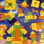 Игра мозартика Космос золотые точки
